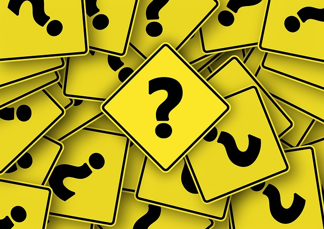Question Marks on Series of Random