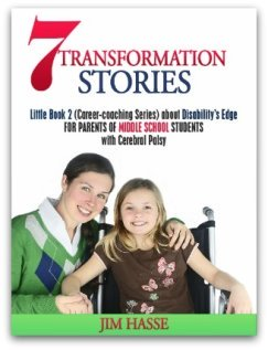 Cover showing mother and daughter for Little Book 2 of 7 transformation stories about disability's edge.