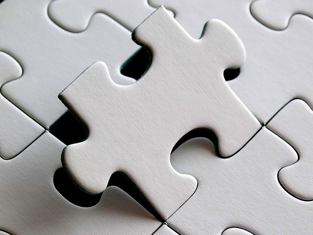 Puzzle Piece Fits - Just like an entry level job should.