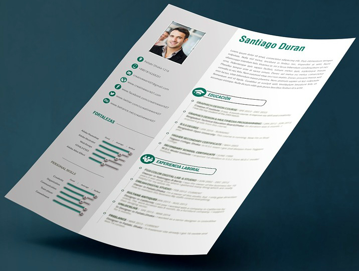 photo of resume illustrating one resume writing approach - Career Builder Resumes