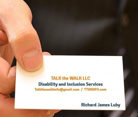 TALK the WALK calling card