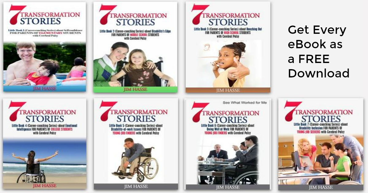 Covers of seven Little Books, featuring 7 Tranformation Stories.